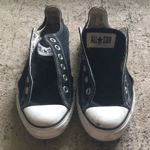 Converse black all star sneakers